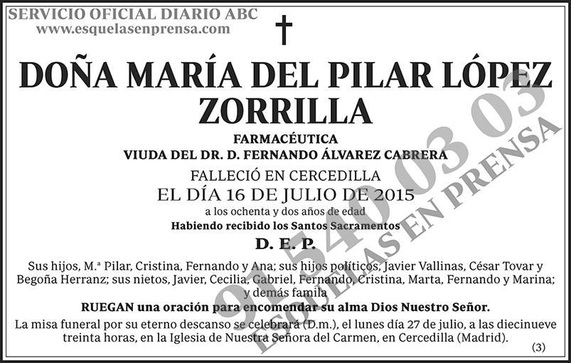 María del Pilar López Zorrilla
